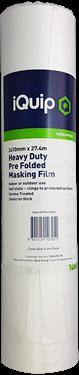 Picture of iQuip Prefolded Plastic Masking Film 1810mm X 27M