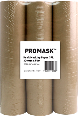 Picture of iQuip Promask Kraft Masking Paper 288mm x 50m 3 Pack