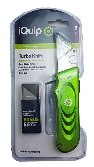 Picture of iQuip Turbo Knife With Bonus 5 Blades